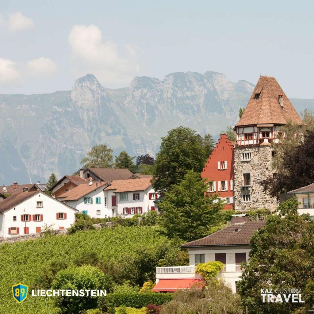Liechtenstein Top 12 Safest Countries in the World