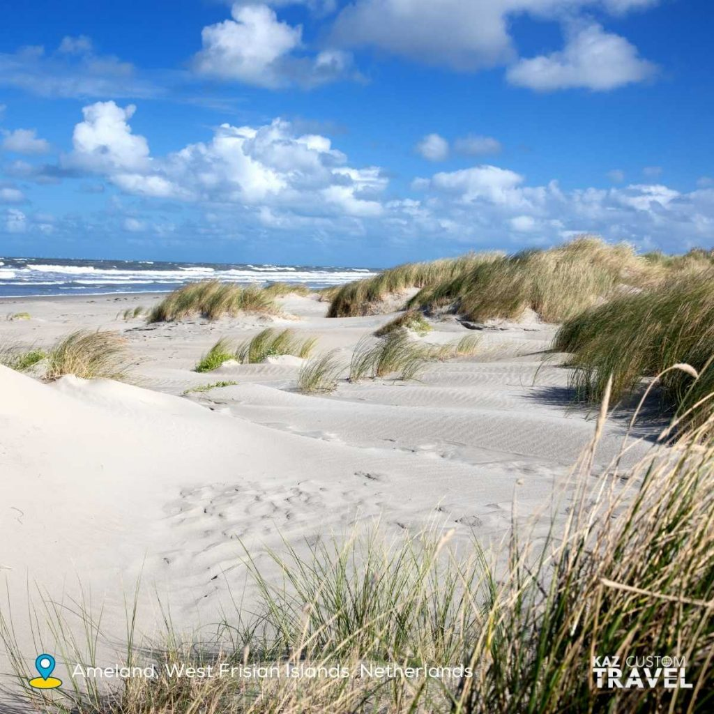 Ameland, West Frisian Islands, Netherlands one of 11 sustainable destinations that made the top 100 list of Green Destinations in 2020