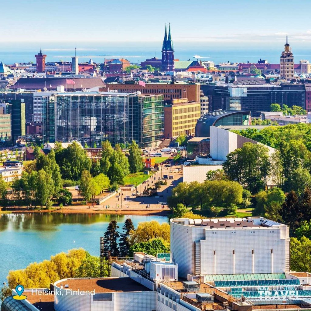"""8.Helsinki, Finland – committed to being carbon neutral by 2035 and involves tourism with its """"Think Sustainably"""" campaign by the city's tourism board"""