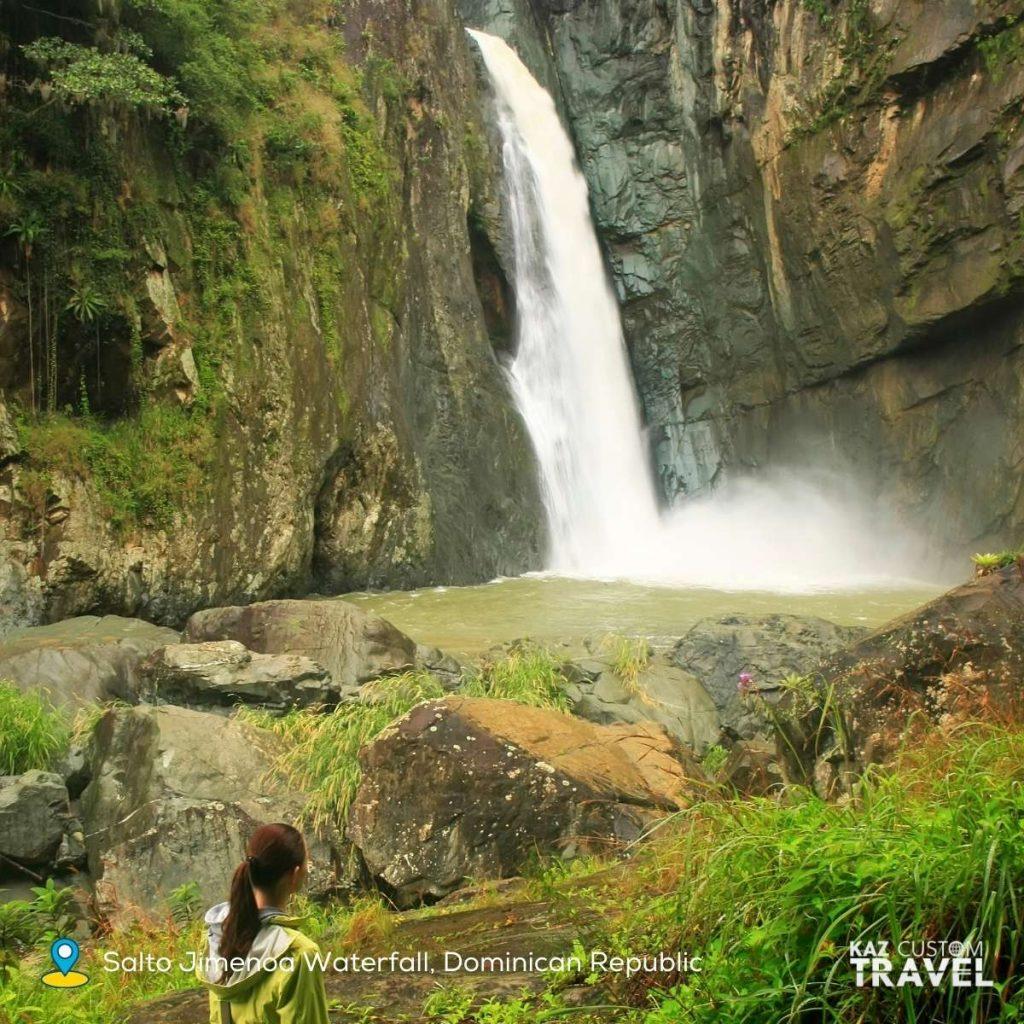 Salto Jimenoa Waterfall, Dominican Republic