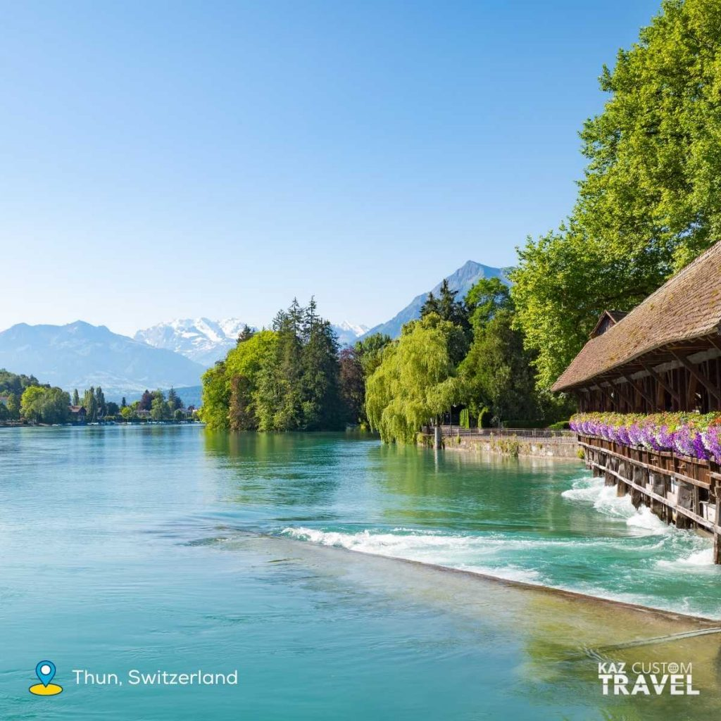 Switzerland - consistently ranked number one in the world for sustainable tourism