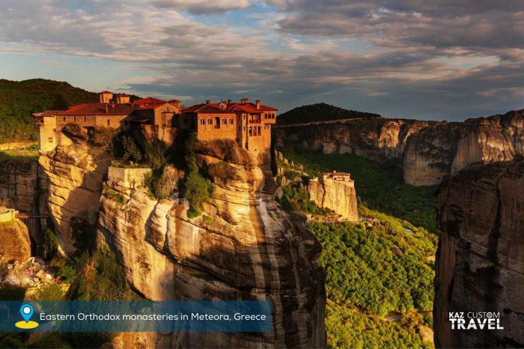 Eastern Orthodox monasteries in Meteora, Greece