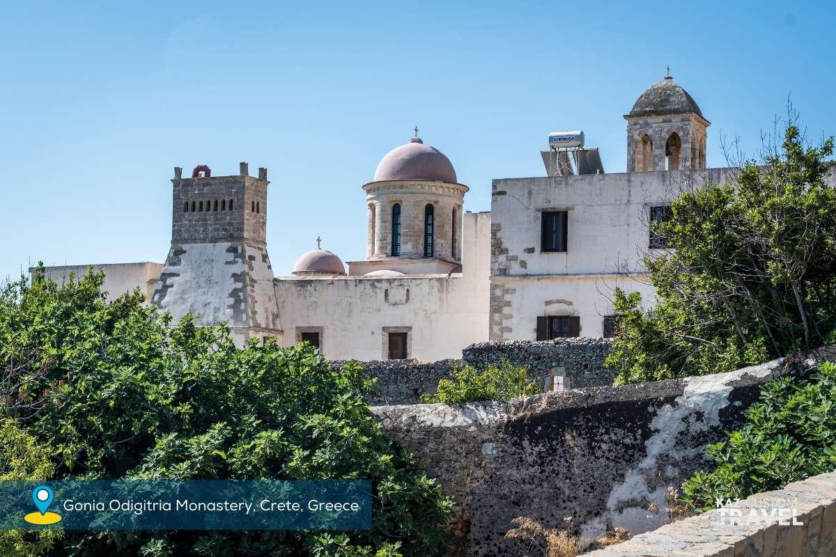 Gonia Odigitria Monastery, Crete, Greece