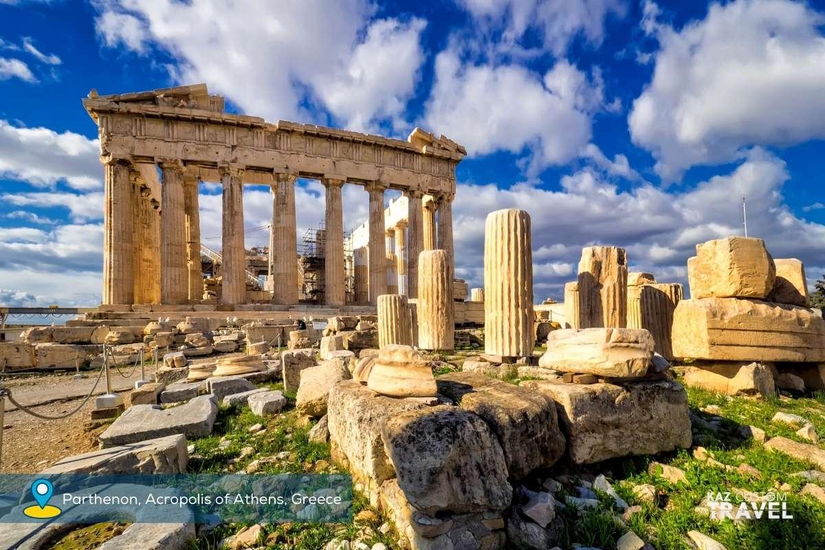 Parthenon, Acropolis of Athens, Greece