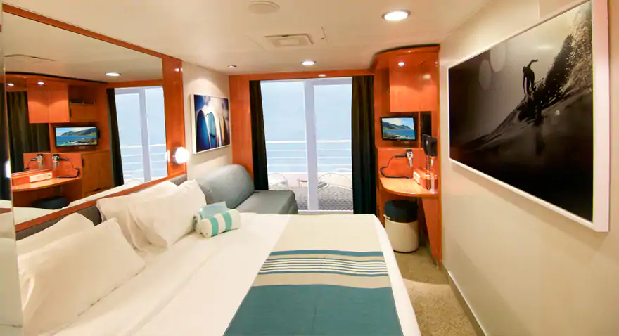 NCL Pride of America Balcony (BB) Stateroom