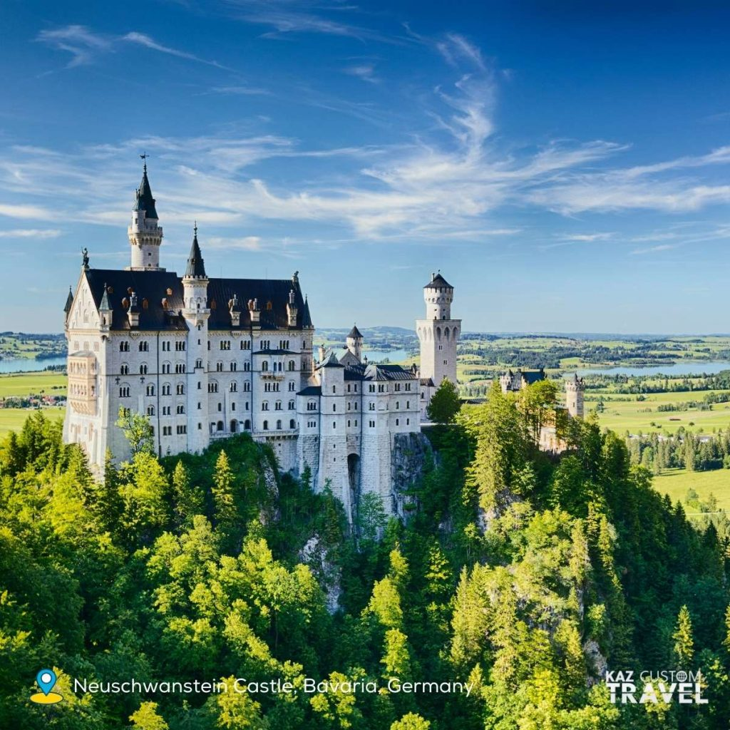 German- Neuschwanstein Castle, Bavaria, Germany