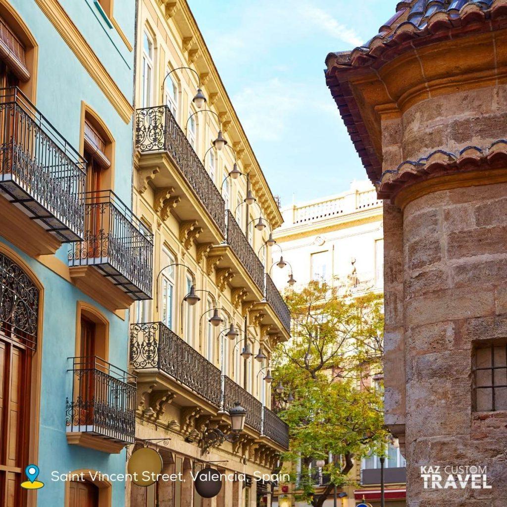 Spanish - Saint Vincent Street, Valencia, Spain